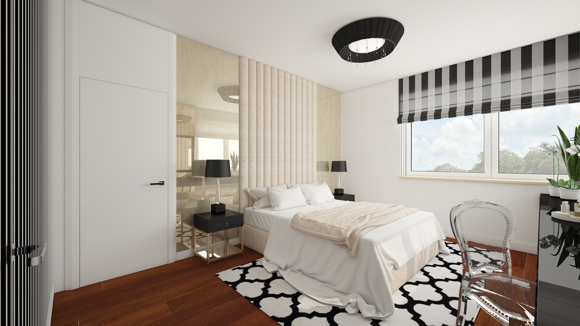 18.Projekt sypialni